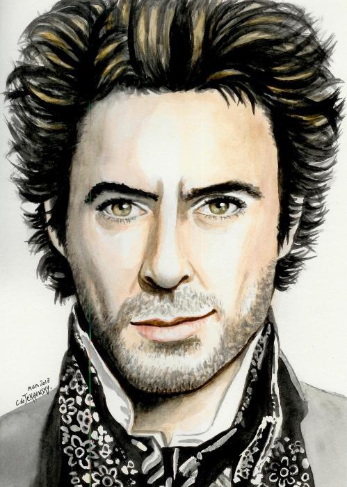 Robert Downey Jr by someone-else